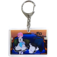 Acrylic Key Chain - Re:ZERO / Rem & Ram