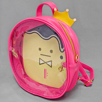 Ita-Bag Base - Daypack - IDOLiSH7 / Momo & Ousama Pudding (King's Pudding) & Kinako