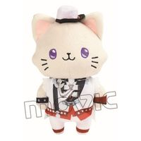 withCAT - Plush Key Chain - Sleep Shade - Tsukiuta / Haduki You