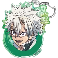 Acrylic Key Chain - Demon Slayer / Shinazugawa Sanemi