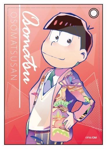 Commuter pass case - PALE TONE series - Osomatsu-san / Osomatsu
