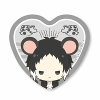 Heart Badge - Bungou Stray Dogs / Akutagawa Ryuunosuke