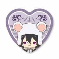 Heart Badge - Bungou Stray Dogs / Fyodor Dostoyevsky
