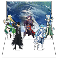 Diorama Stand - Acrylic stand - Sword Art Online