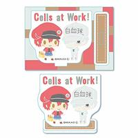 Acrylic stand - Sanrio / Red Blood Cell (AE3803) & White Blood Cell