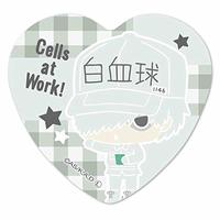 Heart Badge - Sanrio / White Blood Cell