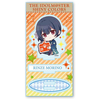 Acrylic stand - Gyugyutto - THE IDOLM@STER SHINY COLORS / Morino Rinze