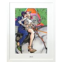Original Drawing - Art Board - Jojo no Kimyou na Bouken / Bruno Bucciarati