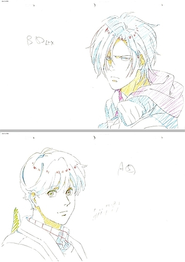 Original Drawing - Illustration Sheet - BANANA FISH