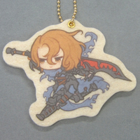 Felt Key Chain - GRANBLUE FANTASY / Siegfried