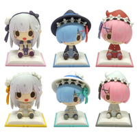 (Full Set) Trading Figure - Re:ZERO / Emilia & Rem & Ram
