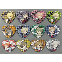(Full Set) Heart Badge - Tsukiuta