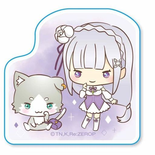 Stickers - Sanrio / Emilia (Re:ZERO)