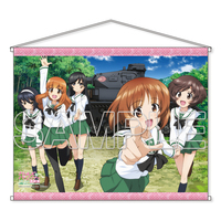 Tapestry - GIRLS-und-PANZER / Miho & Anglerfish Team