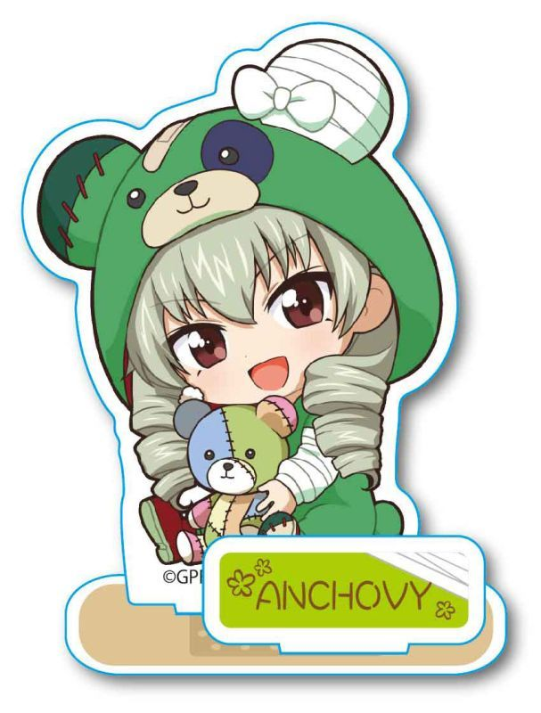 Acrylic stand - Gyugyutto - GIRLS-und-PANZER / Anchovy