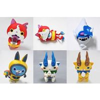 (Full Set) Trading Figure - Youkai Watch / Jibanyan & Koma-san & Komajiro & Whisper