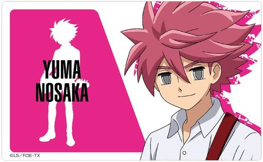 Card Stickers - Inazuma Eleven Series / Nosaka Yuuma