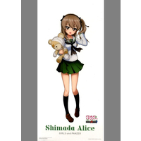 Illustration Sheet - GIRLS-und-PANZER / Shimada Arisu