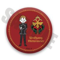Badge - Legend of the Galactic Heroes / Wolfgang Mittermeyer