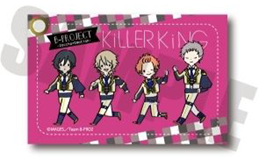 Commuter pass case - B-Project: Kodou*Ambitious / Killer King
