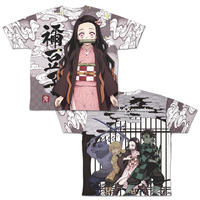 T-shirts - Demon Slayer / Tanjirou & Nezuko Size-M