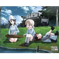 Art Board - Canvas Board - GIRLS-und-PANZER