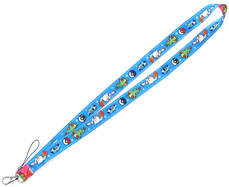 Rubber Charm - Neck Strap - Pokémon
