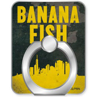 Smartphone Ring Holder - Smartphone Accessory - BANANA FISH / Ash Lynx