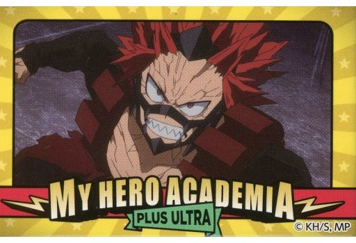 Square Badge - My Hero Academia / Kirishima Eijiro