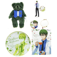 Bracelet - Necklace - Acrylic stand - Illustration Sheet - Kuroko's Basketball / Midorima Shintarou