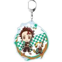 Big Key Chain - Demon Slayer / Kamado Tanjirou