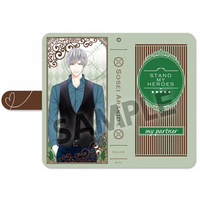 Smartphone Wallet Case for All Models - Stand My Heroes / Arakida Sosei