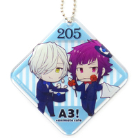 Key Chain - A3! / Winter Troupe & Arisugawa Homare & Mikage Hisoka