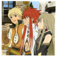 Multi Cloth - Tales of the Abyss / Tear & Guy & Luke