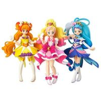 (Full Set) Trading Figure - Go! Princess PreCure / Cure Flora & Cure Mermaid & Cure Twinkle