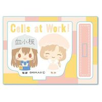 Acrylic stand - Hataraku Saibou (Cells at Work!) / Macrophage & Platelet