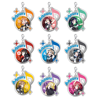 (Full Set) Metal Charm - Love Live! Sunshine!!