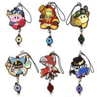 (Full Set) Rubber Strap - Kirby's Dream Land / Magolor & King Dedede & Meta Knight & Waddle Dee