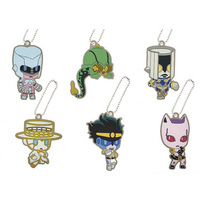 (Full Set) Rubber Strap - Jojo no Kimyou na Bouken / Heaven's Door & Star Platinum & The Hand & Crazy Diamond