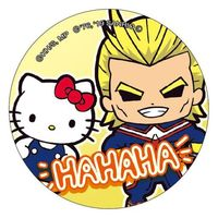 Trading Badge - Sanrio / All Might