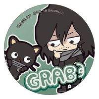 Trading Badge - Sanrio / Aizawa Shouta