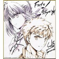 Illustration Panel - Fate/stay night / Saber & Shirou