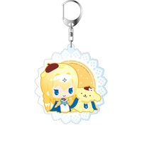 Big Key Chain - Pom Pom Purin / Alice Schuberg