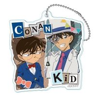 Acrylic Key Chain - Meitantei Conan / Phantom Thief Kid & Conan