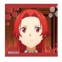 Square Badge - Sword Art Online / Tiese Shtolienen
