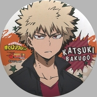 Trading Badge - My Hero Academia / Bakugou Katsuki
