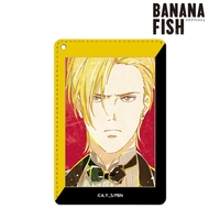 Ani-Art - Commuter pass case - BANANA FISH / Ash Lynx