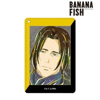 Ani-Art - Commuter pass case - BANANA FISH / Blanca