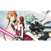 Desk Mat - Sword Art Online / Asuna & Shinon