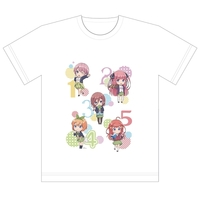 T-shirts - The Quintessential Quintuplets Size-XL